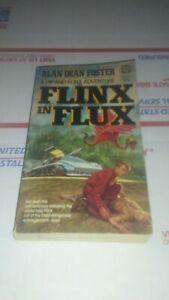 Flinx In Flux By Alan Dean Foster Vintage Scifi Paperback Book