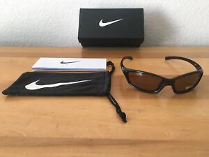 7cbeaed7cb Brown Nike Men s Sport Sunglasses EV0128-201 GDO SQ MaxOptics Lenses ...