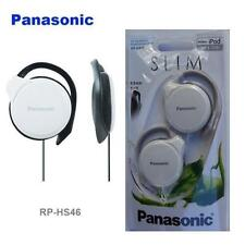 Panasonic RP-HS46-E iPod/MP3 Ultra Slim 9.9mm Flat Clip on Earphones/Headphones