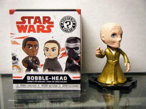 Star Wars The Last Jedi Mystery Minis 1//24 Supreme Leader Snoke