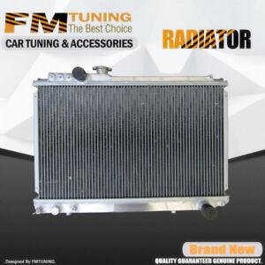 50mm CORE ALLOY RADIATOR FOR TOYOTA SUPRA MK3 SOARER MZ20 7M-GTE JZA70 1JZ TURBO