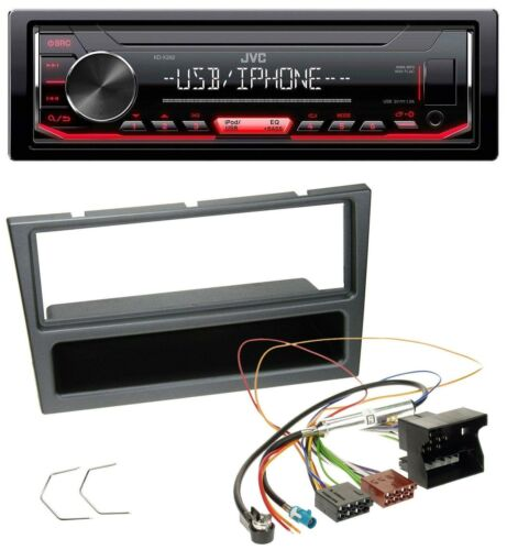 JVC 1din mp3 USB aux radio del coche para Opel Corsa C meriva Vectra C Signum a partir de 2005 C