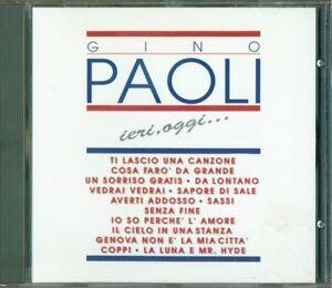 Gino-Paoli-Ieri-Oggi-Raccolta-1A-Stampa-No-Barcode-Cd-Perfetto