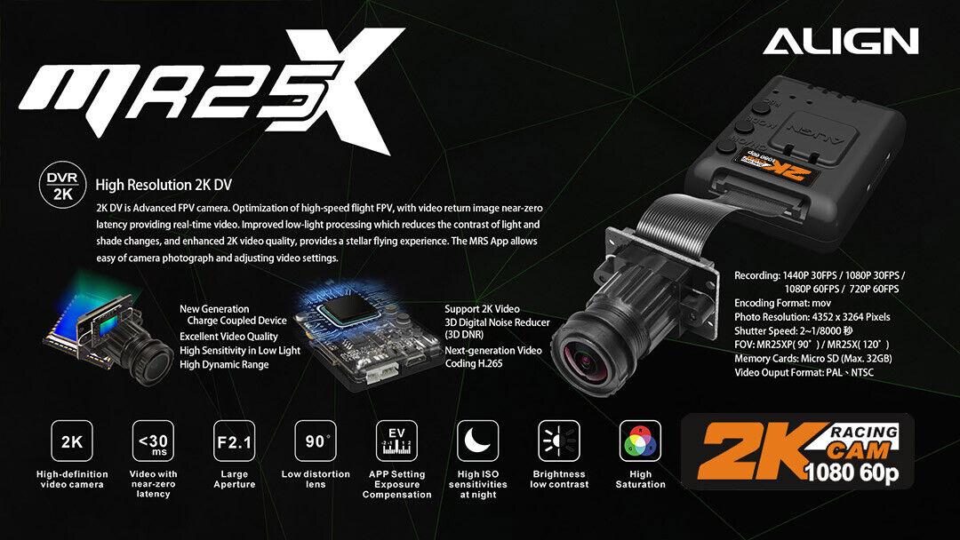 Align MR25X MR25X MR25X Racing Quad Combo (Fisso telecamera) RM42512XXT 6fb21e