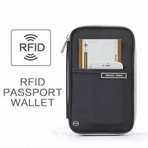 P-travel-RFID-Blocking-Passport-Holder-Travel-Wallet-Zipper-Card-Organizer-Safe