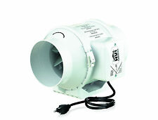 """TT-100 Mixed Flow In-Line Ventilation Fan Compatible with 4"""" Duct"""