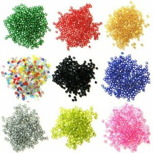 2mm-Rocailles-Glass-Beads-Craft-Factory-Jewellery-15g