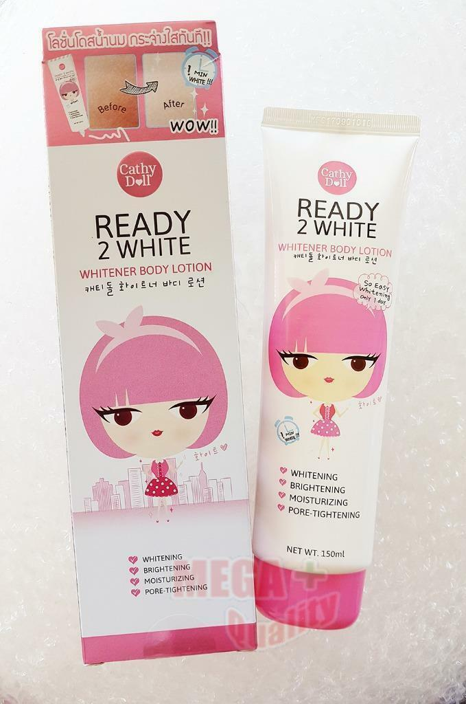 Cathy Doll Karmart Ready 2 White Body Whitening Lotion Brighten One Day 150ml