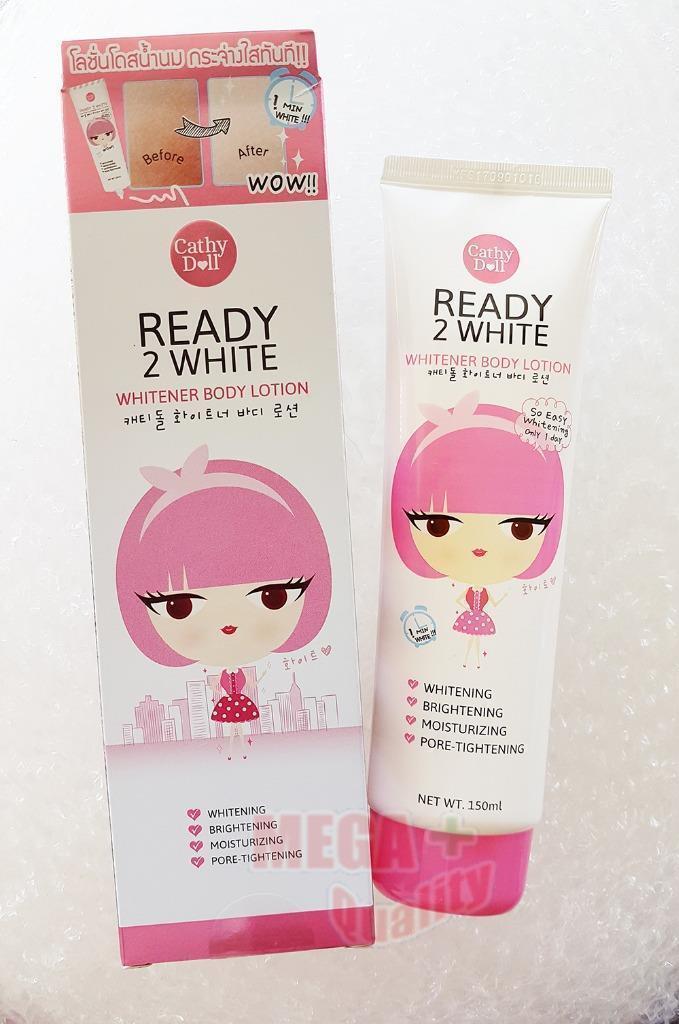 Cathy Doll Karmart Ready 2 White Body Whitening Lotion Brighten One Day 150ml