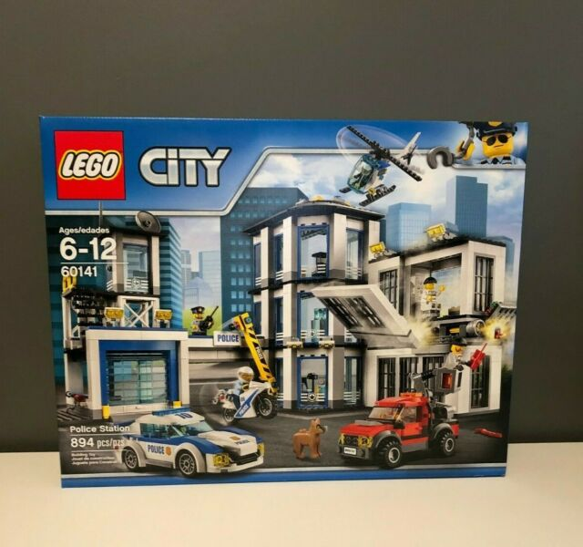 LEGO City Police Station (60141) Jail Fire - Brand New ...