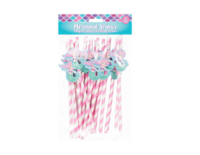 40x Paper Straws Drinking Glitter Striped Flamingo Cactus Party BBQ Summer