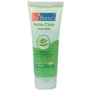8x100-GRAM-OF-NEW-Dr-BATRA-039-S-ACNE-CLEAR-FACE-WASH-WITH-LOWEST-SHIPPING-CHARGES