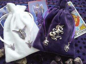 Image Is Loading Angel Unicorn Rune Crystal Oracle Tarot Card
