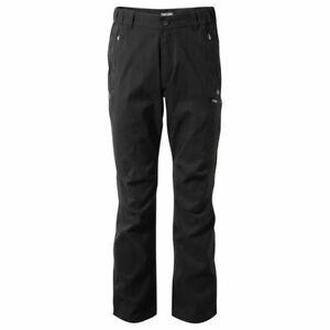 Craghoppers Hommes Kiwi Pro Action Pantalon Noir Différentes Longueurs Cmj322-afficher Le Titre D'origine Diversifié Dans L'Emballage