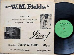 MEMPHIS-GOSPEL-LP-REV-W-M-FIELDS-JR-amp-VOICES-OF-EASTERN-STAR-BAPTIST-CHURCH