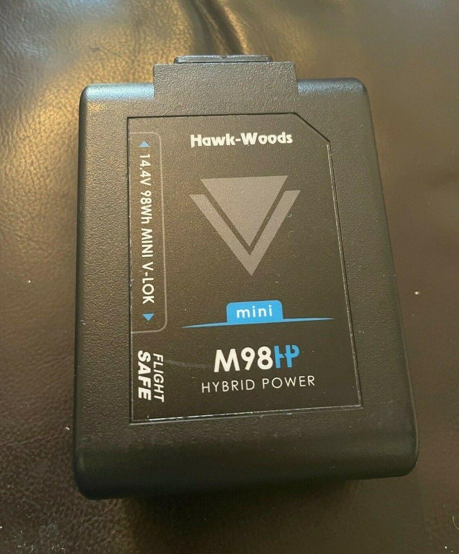 Hawk-Woods VL M98 98Wh 14.4V Mini V-Mount Li-Ion Battery w/ D-Tap Output *used*,