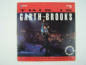 This is Garth Brooks: Live Performances LaserDisc LD Pr