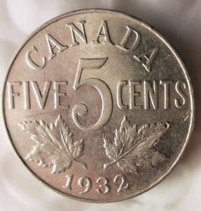 1941 CANADA 5 CENTS Excellent Coin Canada Nickel Bin FREE SHIPPING