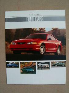 1994-FORD-CARS-DEALER-SALES-BROCHURE