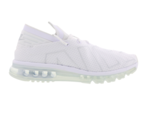 huge selection of d7991 90e5b Image is loading Mens-NIKE-AIR-MAX-FLAIR-White-Running-Trainers-