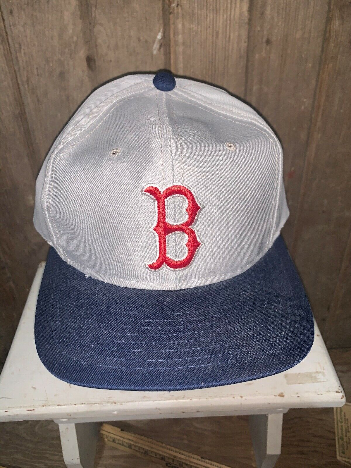 VINTAGE 80s/90s Boston Red Sox MLB Grosscap Brand… - image 2