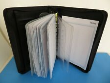 Classic 1 Rings Black Sim Leather Franklin Covey 365 Plannerbinder Zip