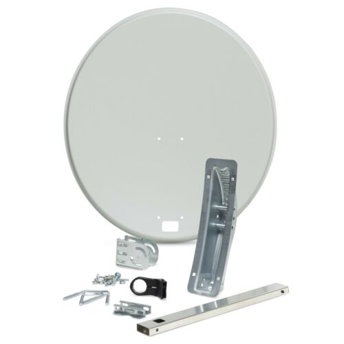 Quad LNB Twin or Single Cable Zone 1 /& 2 60 80cm Satellite Dish For Sky HD