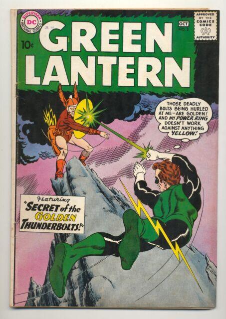 Green Lantern #2 (1960) Very Good+ (4.5) ~ 1st Pieface ~ Gil Kane ~ DC Comics