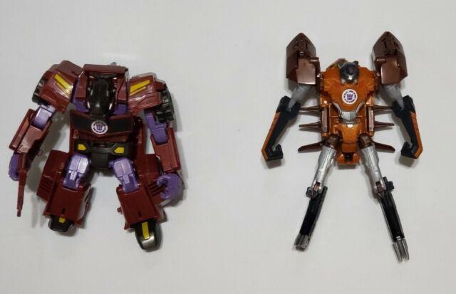 Transformers RiD Robots In Disguise Scorponok & Shatterspike LOOSE