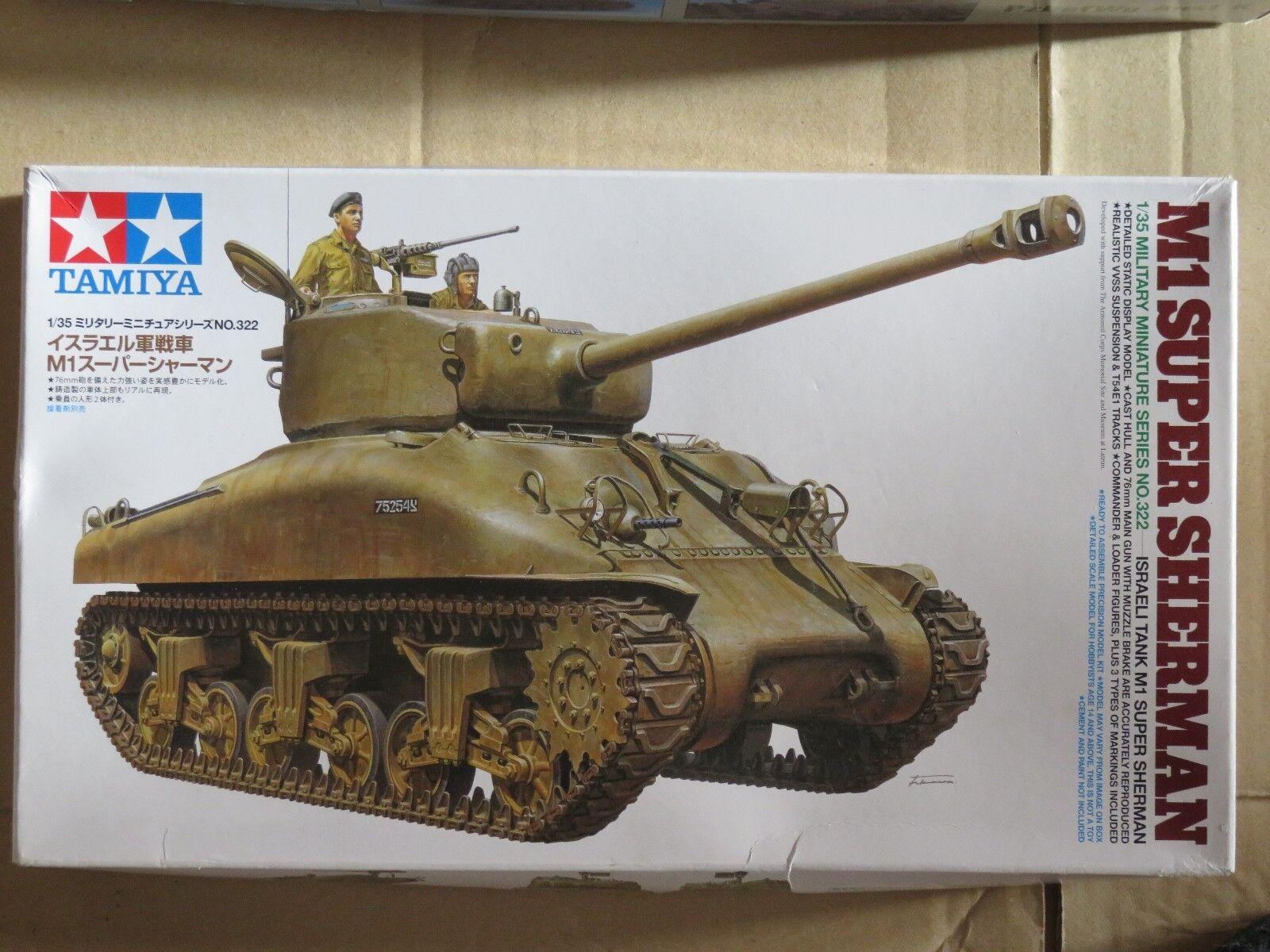 Tamiya 1 35 scale M1 Super Sherman