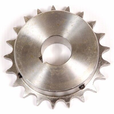 "Roller Chain Sprocket 3SR17 20mm Bore Key /& 2 Grub Screws 3//8/"" Pitch 17 Tooth"