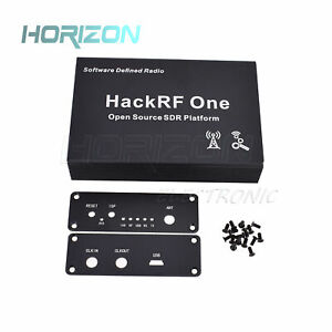 Black-Aluminum-Enclosure-Cover-case-shell-for-HackRF-One