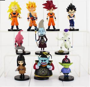 10pcs-lot-4-9cm-Dragon-Ball-Z-Figure-Toy-Goku-Vegeta-Super-Saiyan-Hercule-Frieza