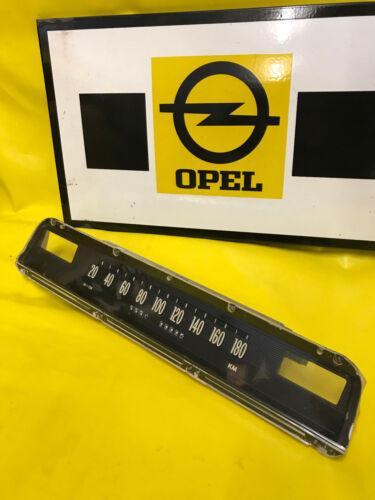 Original Opel Capitaine Amiral Diplomate A compteur de vitesse compteur de vitesse Laminage compteur de vitesse NOS Neuf