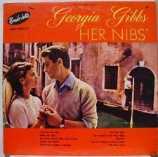GEORGIA GIBBS her nibs LP VG+ 876 Vinyl  Record