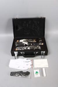 Yinfente-Professional-Clarinet-C-key-Clarinet-Ebonite-Wood-Nickel-Plated-Key