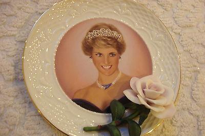 "Princess Diana Plate by Bradford Exchange, 6 1/2"", ""People's Princess"""