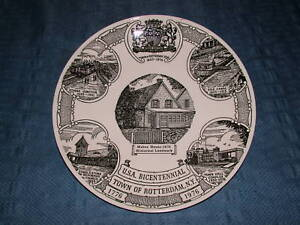VINTAGE 1820-1976 ROTTERDAM BICENTENNIAL PLATE