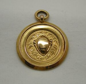 1920-039-s-Vintage-9ct-Solid-Rose-Gold-Sports-Medal-Bowling-league