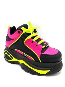 Buffalo London Classic Boots Shoes Plateau Halb Schuhe 90er