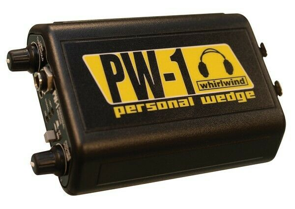 Whirlwind PW-1 Personal Wedge Belt Pack Headphone Driver On Stage Earbud Unit