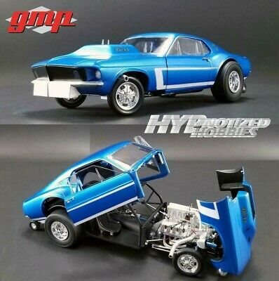 GMP 1//18 Twin Turbo Boss 429 Drag Engine /& Transmission Pack  GMP-18914