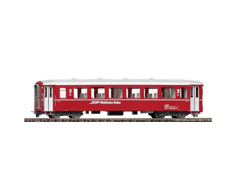 BEMO 3255143 unità carro i B 2313 Berninabahn rosso della RHB, traccia h0m