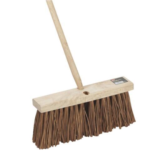 "DQB Ind EACH 16/"" Palmyra Push Broom DI89275 Unit"