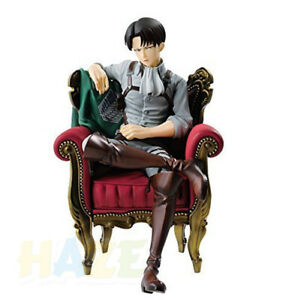 Attack-on-Titan-Levi-Rivaille-Rival-Ackerman-Sofa-PVC-Figure-Model-15cm