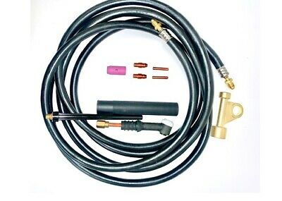 WP26FV-12R TIG Torch Complete Welding Outfit Air Cooled 12.5FT Flex/&Valve Head