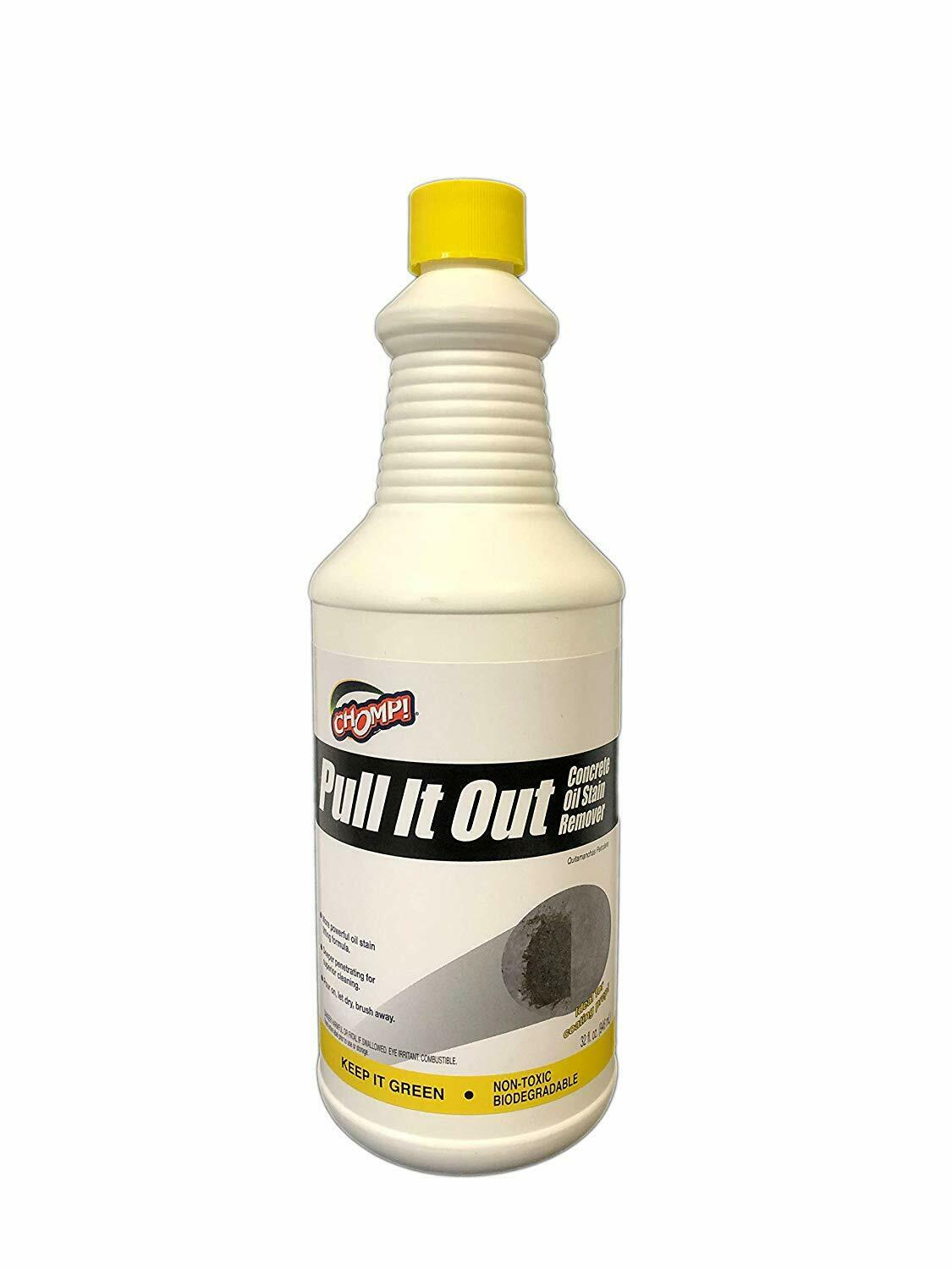 Chomp 52019 Pull It Out Concrete Oil Stain Remover 6962