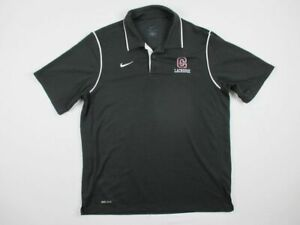 Nike-Colgate-Raiders-Black-Dri-Fit-Polo-Shirt-Multiple-Sizes-Used