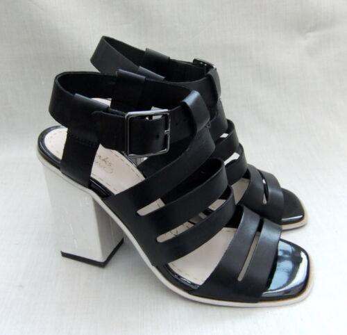 Clarks cuero sandalias mujer negras de para Ski Tropical Nuevas waUq14n4