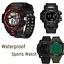 SYNOKE-Men-039-s-Multi-Function-Military-Sports-Watch-LED-Digital-Waterproof-Watch thumbnail 1